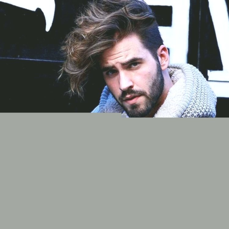 Unbelievably long hair men's style décor-Charming Long Hair Men's Styling Wall