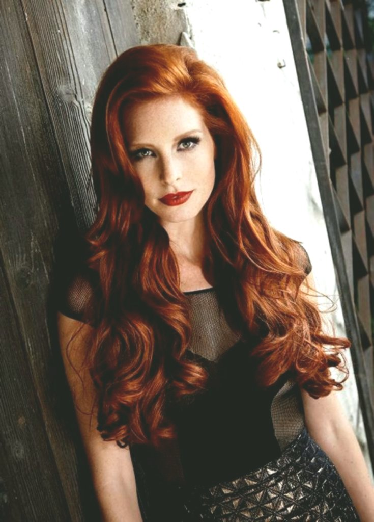 best hair red-brown image-modern hair red-brown photography