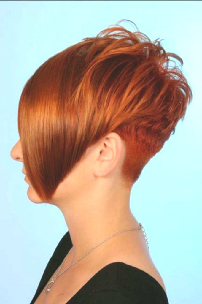 fancy hairstyle behind short front long ideas - Beautiful Hairstyle Back Short Front Long Concepts