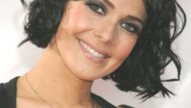 Photo of Kym Marsh Black Short hairstyles for curly hair
