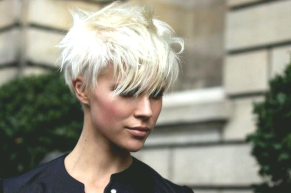 beautiful blond black hair photo picture Wonderful blond black hair photography