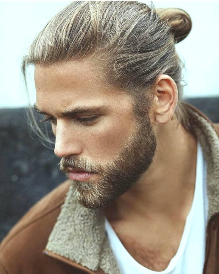 New long haircut men's inspiration-Beautiful long haircut men models
