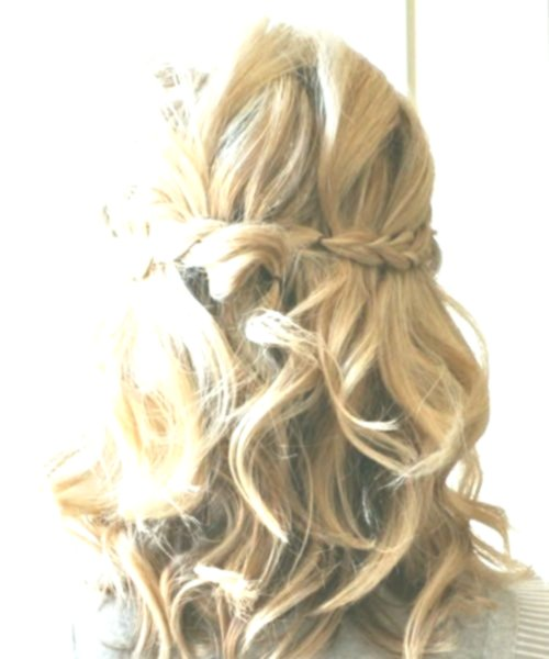 fancy hairstyles half-naked online-Beautiful Hairstyles Semi-open picture