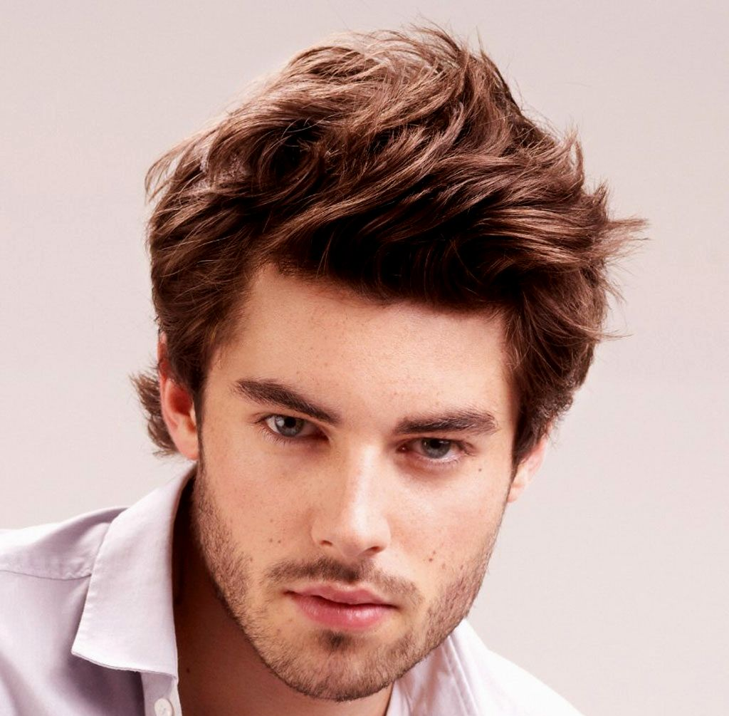 lovely men's hairstyles medium length photo-Best Of Men's Hairstyles Medium-Length Wall