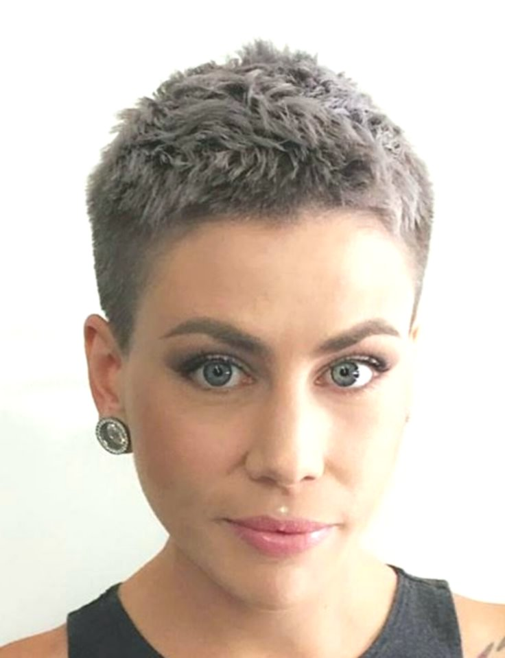Fancy Extremely Short Hair Design - Fascinating Extremely Short Hair Inspiration