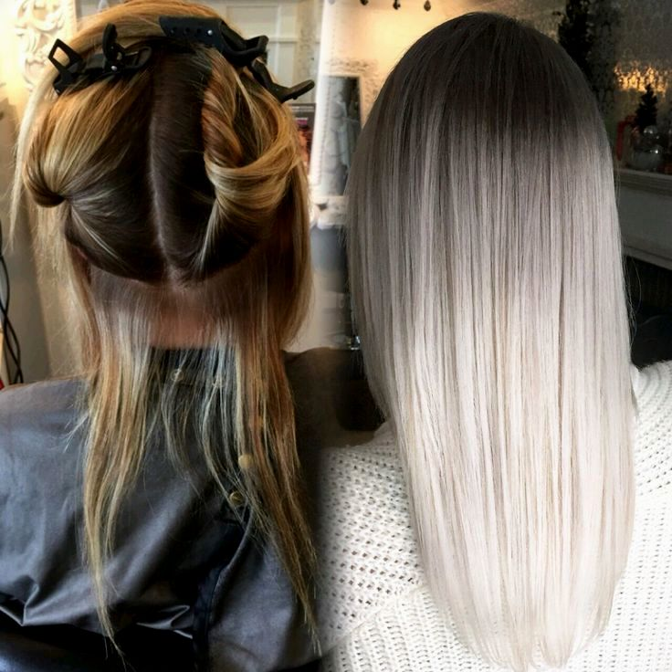 lovely gray hair blond dyeing picture - Breathtaking Gray Hair Blond dyeing ideas