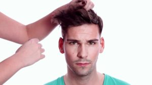 Photo of New hair styling men model