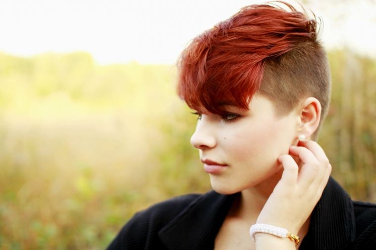 terribly cool short hairstyles sidecut model-unique short hairstyles sidecut decor
