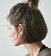 Photo of Stunning hairstyles chin-length hair portrait