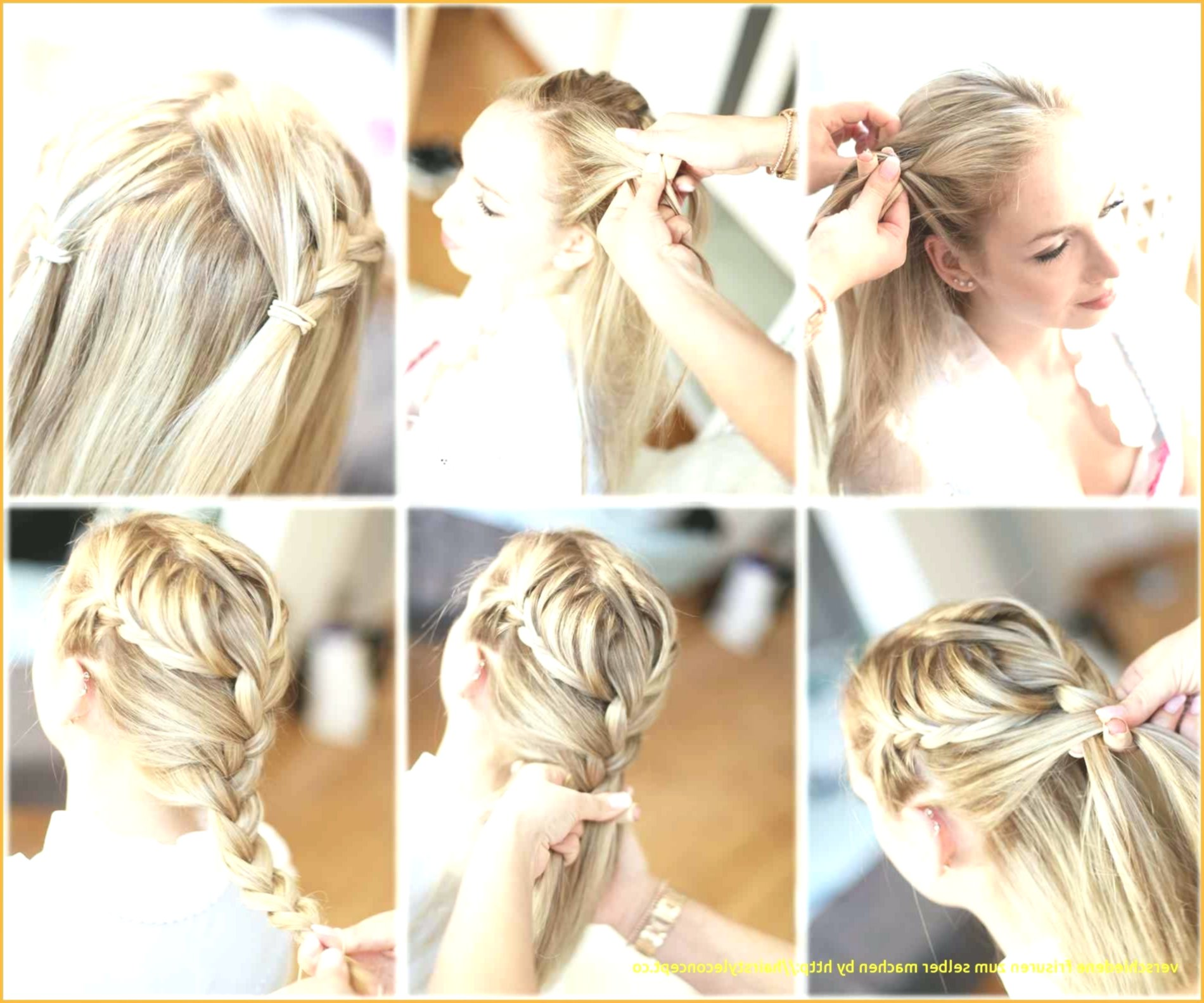Lovely Simple Hairstyles Making Yourself Concept Modern Simple Hairstyles Making Yourself Design