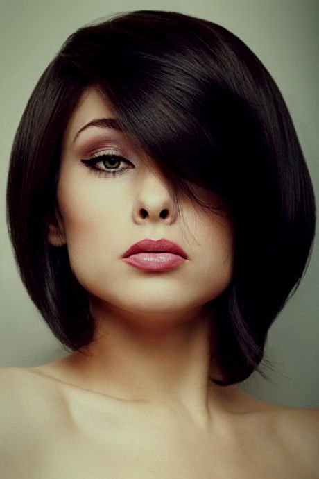 unique medium-short hair galerie-Lovely mid-hair photo