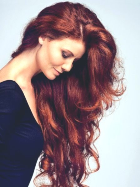 amazingly awesome hair red tint photo image - Elegant Hair Red Tones Image