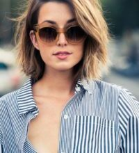 Photo of Unique Short Hairstyles 2020 With Glasses Decor