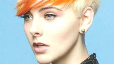 Photo of Trendy short hair color: straight haircuts
