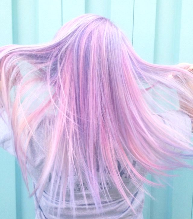 new pastel pink hair ombre background-Stylish pastel pink hair ombre photo